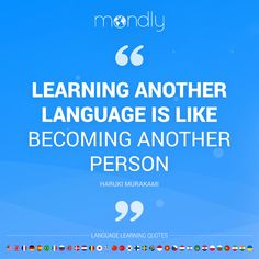 Learn a language = become a different person 😎 Tag a friend who's different when they speak another language. Learn Languages Online, Learn Another Language, Learning Quotes, Quote Of The Day, How To Become, Free, Education Quotes
