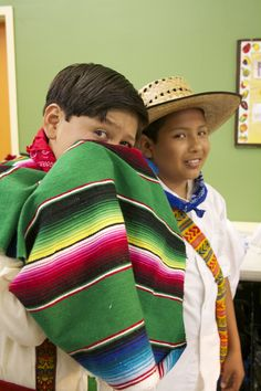 Ballet Folklorico Resurreccion - 2 of our younger boys being silly in the  dressing room. e4c36d90612