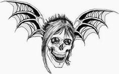 The Rev Memorial Tattoo Avenged Sevenfold Tattoo, Avenged Sevenfold Wallpapers, Jimmy The Rev Sullivan, Organic Sculpture, Music Tattoos, Band Photos, Skull Tattoos, Aviation Art, Women In History