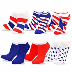 TeeHee Novelty Fashion Americana No Show Socks for Women ... https://www.amazon.com/dp/B00L4PON1C/ref=cm_sw_r_pi_dp_x_xeqizbGEZP2YP