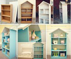 Dollhouse Bookshelf