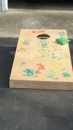 Homemade Corn Hole Board