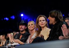 Nashville's Power Couples  CMT Awards '10  Tim McGraw and Faith Hill sit with Nicole Kidman and Keith Urban.
