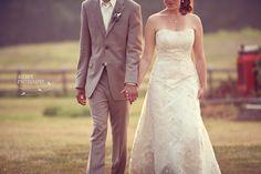 Farm wedding, NC