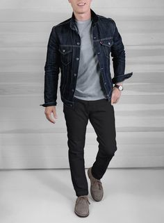 1652e967b38c 3 Tricks for Making Summer Outfits Out of Your Favorite Fall Looks Denim  Jacket Black Jeans