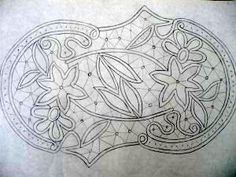 T t cut floral Cutwork Embroidery, Bead Embroidery Patterns, Crochet Stitches Patterns, Macrame Patterns, Lace Patterns, Irish Crochet, Crochet Lace, Bruges Lace, Romanian Lace