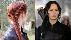 Hunger Games Hair Tutorial - Katniss' Mockingjay Battle Braid