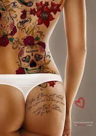 Got some sexy tattoos from women guys? Share  them because I LOVE them