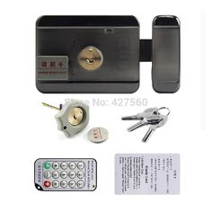 26.00$  Watch now -  card integrated lock Remote electric lock  Double-sided  card and unlock double-head lock  #buyonline