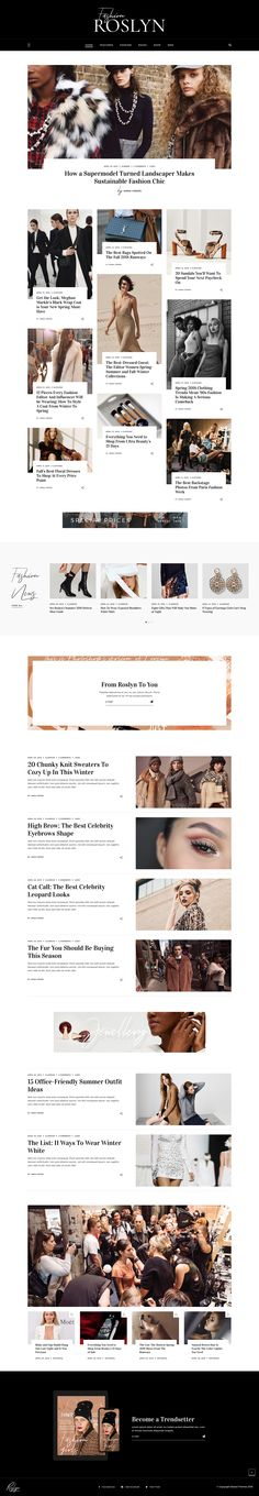A Fashion and Lifestyle Website for Bloggers and Magazines. WordPress Theme. Fashion Shop. WooCommerce. Magazine Website Design Layout. WordPress Online Template Inspiration. General News, Fashion News, Women Health, Men Health, Style or Gossip News.