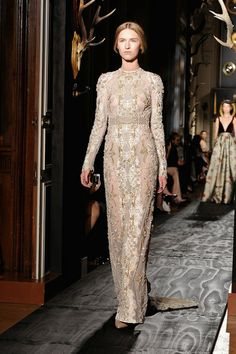 Valentino at Paris Haute Couture Fashion Week   Fall 2013