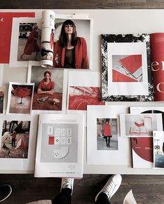 Prepping for the launch of The Kinfolk Gallery in Copenhagen this weekend. #TheRedSocial
