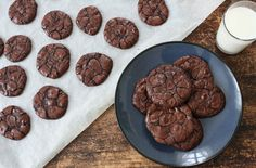 no - min side Gluten Free Chocolate Cookies, Caesar Pasta Salads, I Want To Eat, Cake Recipes, Food And Drink, Favorite Recipes, Sweets, Baking, Desserts