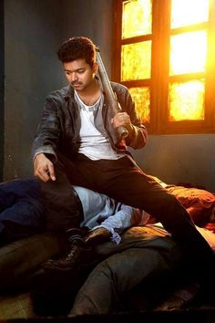 Kaththi first day box office report! The figures from the rest of the states and countries are expected to be out very soon. Prabhas Actor, Best Actor, Actor Picture, Actor Photo, Actors Images, Couples Images, Famous Indian Actors, Most Handsome Actors, Vijay Actor