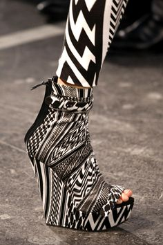 Givenchy wedges.
