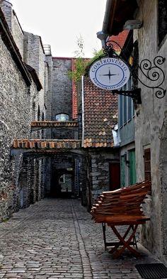 St Catherine's passage in Tallinn Old Town, Estonia | by Detlef Menzel