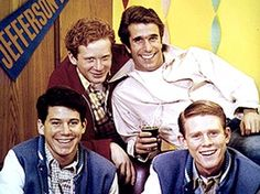 1974 – Happy Days premiered on ABC with 'Rock Around The Clock' as its original theme song. The popularity of the television show put Bill Haley's song back ...