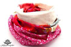 Loop Baumwolle von Lieblingsmanufaktur: Tuh in beige, pink