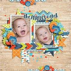 Half Pack 157 by Cindy Schneider The Perfect Catch by Digital Scrapbook Ingredients