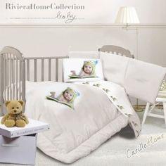 Lenzuola lettino Digit baby Gufetto #CarilloHome #mondobaby #baby www.carillohome.com #love #style #Idearegalo #idea #regalo