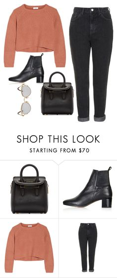"""""""Untitled #420"""" by clasychick on Polyvore featuring Alexander McQueen, Topshop, Brunello Cucinelli and Jean-Paul Gaultier"""