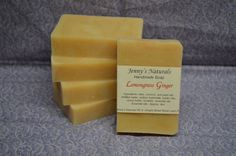 Lemongrass Ginger Handmade All Natural Cold by jennysnaturals, $4.00