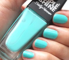 Take the Leap With Dive In, One of Sally Hansen's New Triple Shine Nail Polishes
