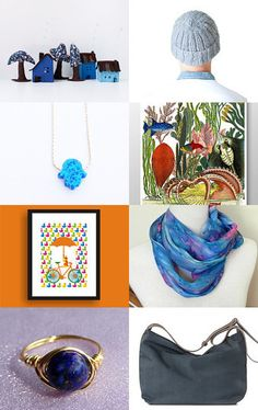 Blue finds by Ann Korniets on Etsy--Pinned with TreasuryPin.com