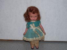 Vintage Bisque Nancy Ann Story Book Doll Strung Arms