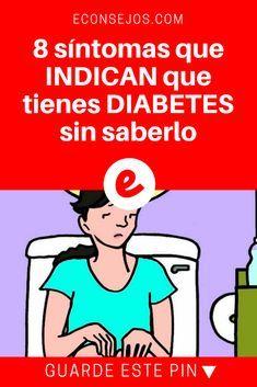 Diabetes sintomas | 8 síntomas que INDICAN que tienes DIABETES sin saberlo | Vivir sin saber que tienes diabetes y sin tratarte, es una bomba de tiempo para tu salud.
