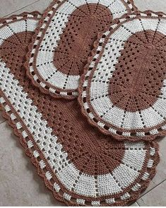 Diy Crochet, Crochet Bikini, Crochet Carpet, Diy And Crafts, Bohemian Rug, Blanket, Holiday Decor, Home Decor, Crocheting