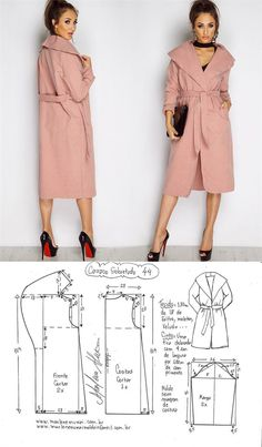 I don't know about you, but I love sewing for Easter. Here's not one bunny sewing pattern, but 20 free sewing patterns with a bunny to inspire … Coat Pattern Sewing, Coat Patterns, Dress Sewing Patterns, Jacket Pattern, Sewing Patterns Free, Free Sewing, Clothing Patterns, Sewing Coat, Diy Clothing