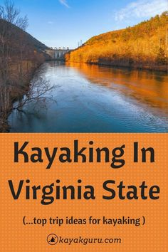 Virginia is full of natural beauty. Kayaking in the state parks can be a great way to explore this beautiful place first hand, see some spectacular scenery and get your fitness on too! We've put together a list of our favorite paddling spots so you can plan your next adventure. Happy kayaking!