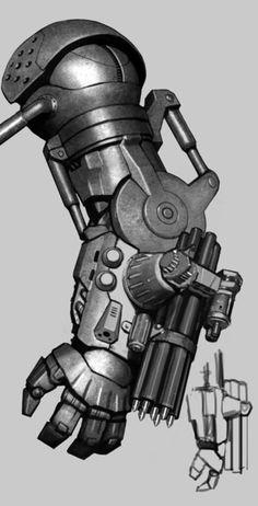 Nifty robot arm sketch