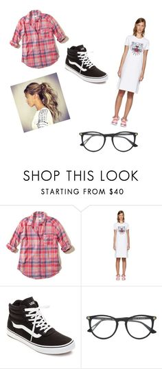 """""""Wish list #3"""" by shellysakhd on Polyvore featuring Hollister Co., Kenzo, Vans and Gucci"""