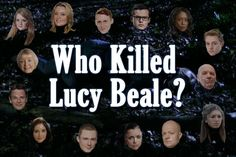 Who killed Lucy Beale? The question's been hanging over EastEnders' Albert Square since her untimely death last Easter