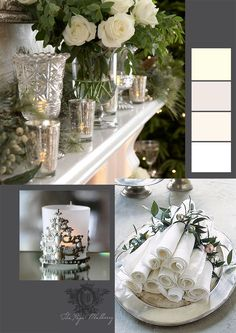 My decor does not lend itself to white at Christmas, but I enjoy seeing it in others' homes.