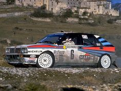 Lancia Delta, Subaru Rally, Car Competitions, Monte Carlo Rally, Rally Raid, Hatchback Cars, Martini Racing, Fast Cars, Sport Cars