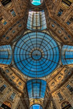 Galleria Vittorio Emanuele II, Milan Italy Fiber artist L. Blair Addessi re-created this for the Stonewall Art Gallery - fabulous!