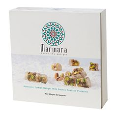 HOLIDAY SALE Marmara Authentic Mini Turkish Delight Lokum with Double Roasted Pistachio  Sweet Confectionery Gourmet Gift Box Candy Dessert Large88oz *** You can find more details by visiting the image link.