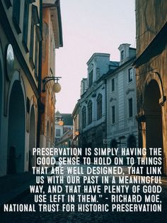 historic Preservation Quotes