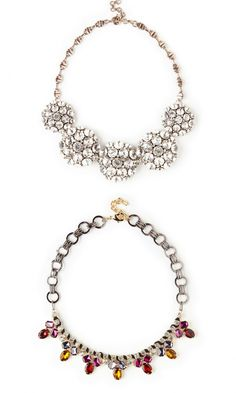 Use a statement necklace to highlight any outfit casual or dressy.
