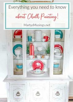 These 7 no fail chalk painting tips for beginners prove that anyone can learn to paint and are guaranteed to get you hooked on the latest craze and fun way to paint furniture and home decor accessories! Easy Home Decor, Cheap Home Decor, Annie Sloan, Painting Tips, Chalk Painting, Painting Techniques, Furniture Making, Diy Furniture, Rustic Furniture