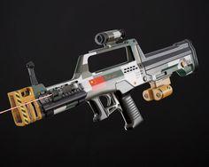 ArtStation - LBZ-23 Laser gun concept, Egor Belyakov