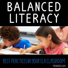 What I Teach… I teach using the Balanced Literacy approach, which makes it easy…