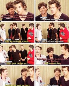 They're all so positive about it. Way to go, boys!!! Thanks for being a little mature. :)