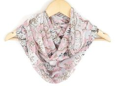 Fashion infinity Scarf Women Scarves  Girly Chiffon by HeraScarf, $9.90