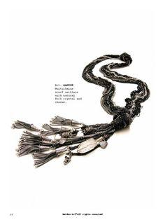 Metal Rock Necklace - Collana