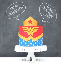 Be inspired by the Wonder Woman Cake I made for my sweet sister in law! I share a few tips and tricks for how I made it. Wonder Woman Cake, Wonder Woman Birthday, Wonder Woman Party, Disney Frozen Cake, Lego Cake, Cake Minecraft, Minecraft Houses, My Sweet Sister, Monster High Cakes