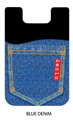 Smart Wallet Denim - Smart Wallet Denim - Silicone Card Holder
